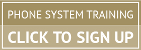 Sign up now for our Phone System Traingin