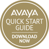 Avaya Quick Start Guide