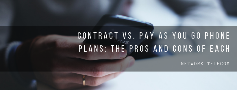 contract vs. pay as you go