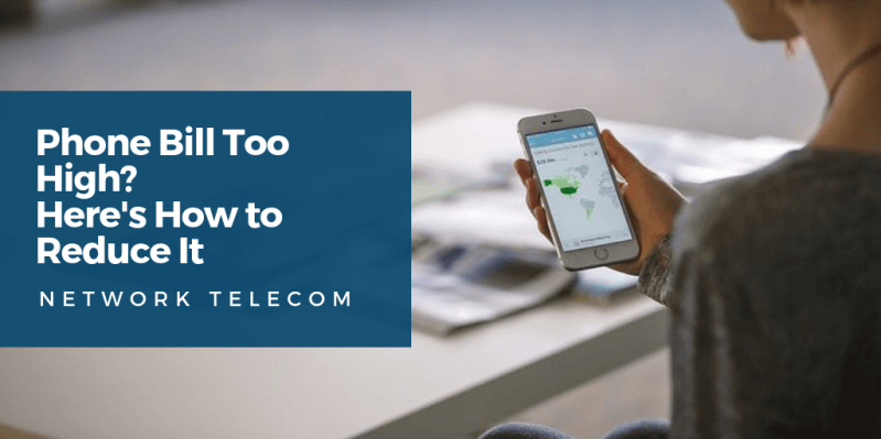 Phone Bill Too High? Here's How to Reduce It