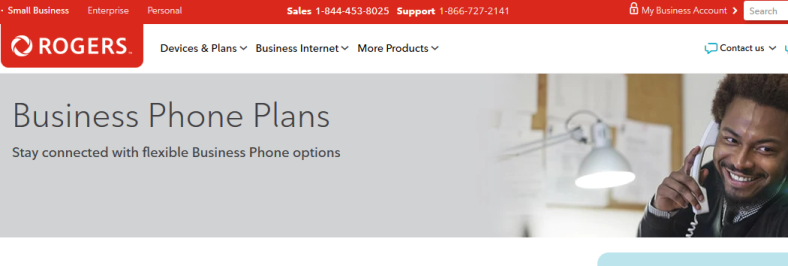 rogers business phone plans