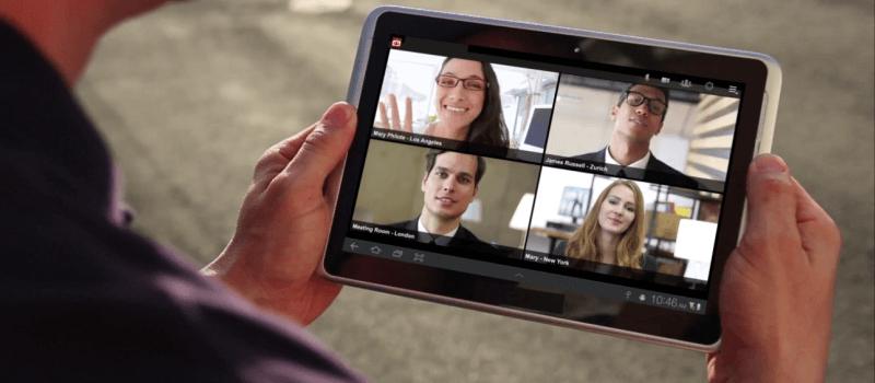 tablet video conferencing